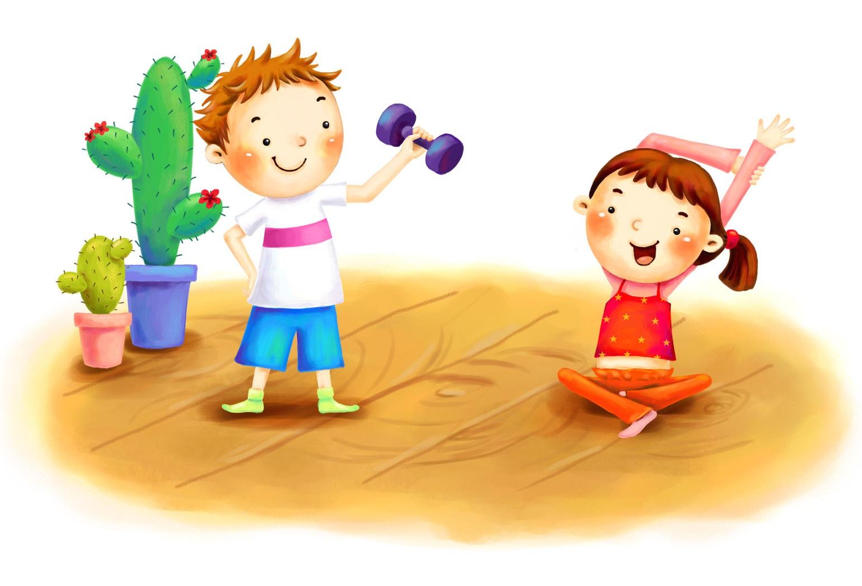 Зарядка в жизни дошкольника - мамадар