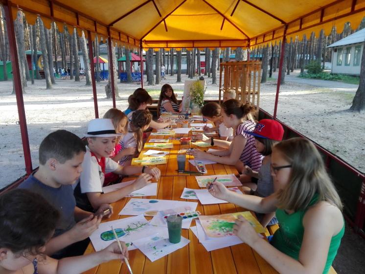 мастер-классы в детском лагере